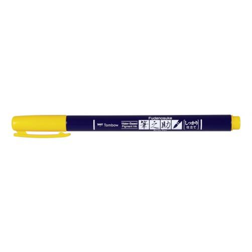 Rotulador Fudenosuke BH03 Yellow Tombow