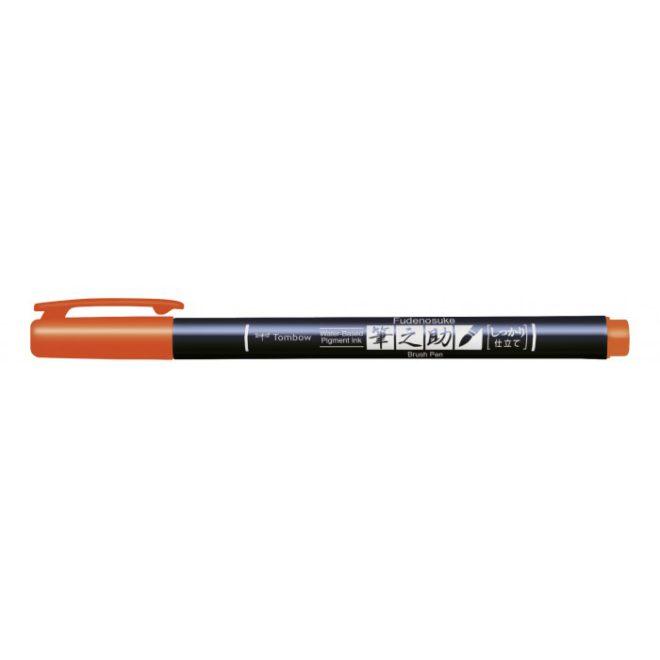 Rotulador Fudenosuke BH28 Orange Tombow