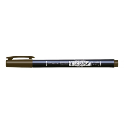 Rotulador Fudenosuke BH31 Brown Tombow