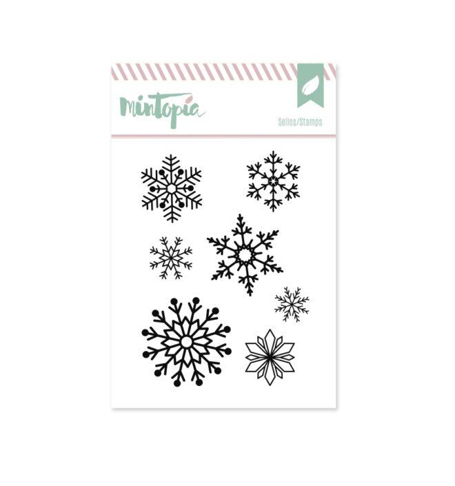 Sello Mintopía Copos de nieve