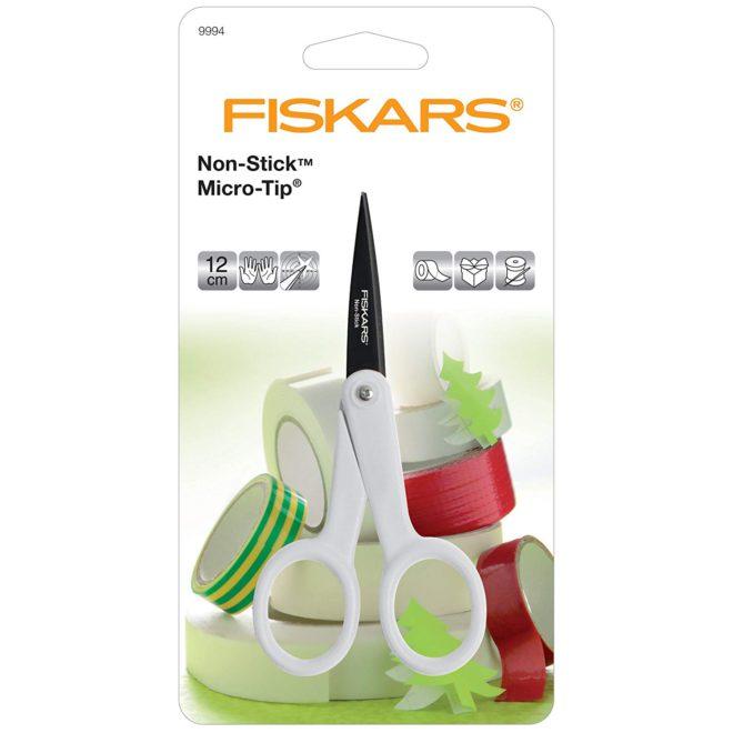 Tijeras de precisión anti-adhesivas Fiskars
