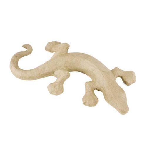 Salamandra cartón craft Décopatch para decorar