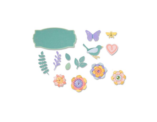 Set 20 troqueles THINLITS Spring things by Lynda Kanase