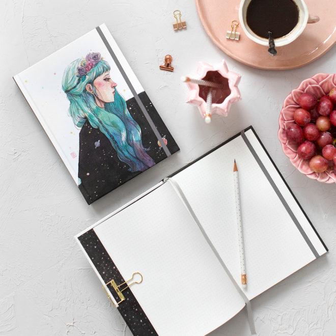 Cuaderno Esther Gili Noche Edición Limitada
