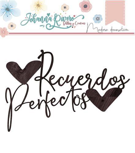 Maderita Recuerdos Perfectos de Johanna Rivero de Bellas y Creativas Scrapbooking