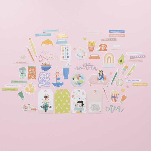 Die cuts - Colección Meraki de Lora Bailora