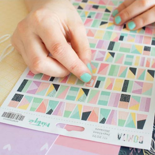 Alfabeto adhesivo - Colección Bonita de Mintopia
