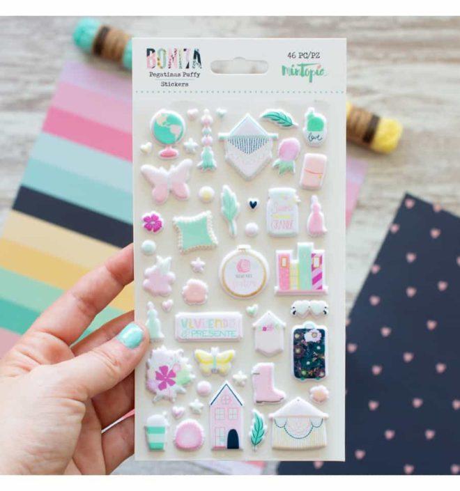 Set de pegatinas puffy - Colección Bonita de Mintopia