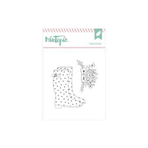 Sello botas de agua - Colección Bonita de Mintopia