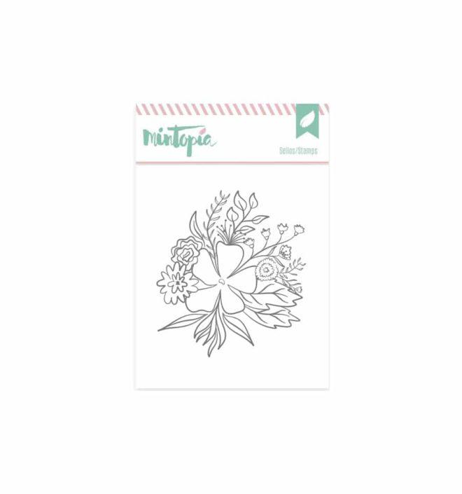 Sello Flores bonitas - Colección Bonita de Mintopia