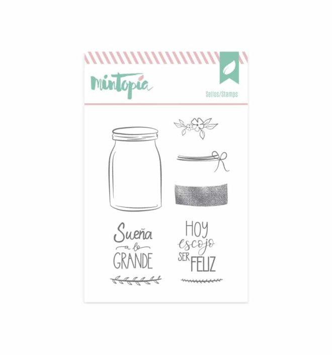 Sello tarro de cristal - Colección Bonita de Mintopia