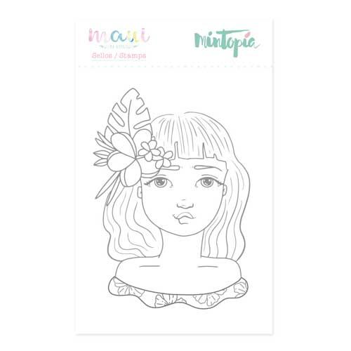 Sello Hawaiana Colección Maui de Mintopía y Wilma Rodríguez