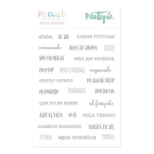 Sello Esto es vida Colección Maui de Mintopía y Wilma Rodríguez