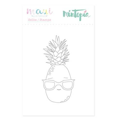 Sello Piña Colección Maui de Mintopía y Wilma Rodríguez