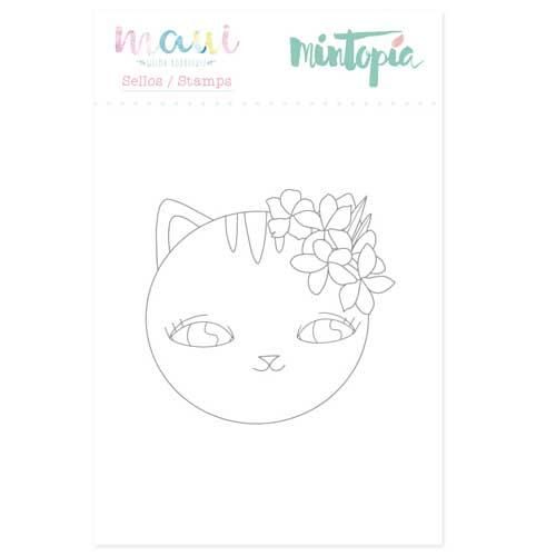 Sello Gato Colección Maui de Mintopía y Wilma Rodríguez