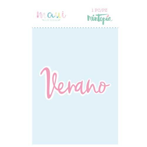 Troquel Verano Colección scrapbooking Maui de Mintopía y Wilma Rodríguez