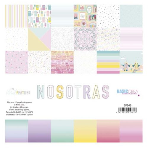 Nosotras The Mint Feather