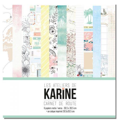 Carnet De Route by Les ateliers de Karine