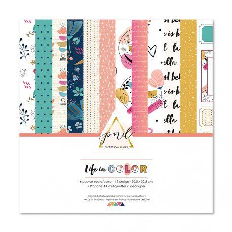 Life in color by Paper Nova Design