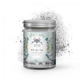 Pigmento color plata metalizado Fridita