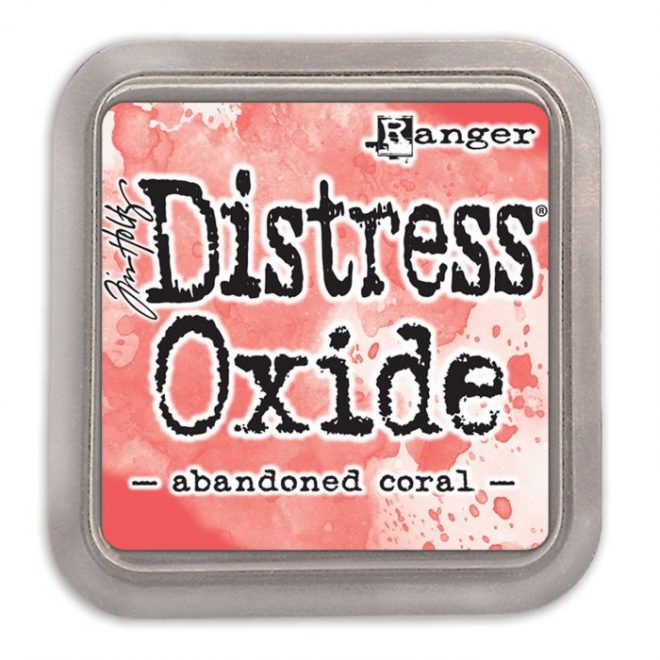 Tinta Distress Oxide Abandoned Coral