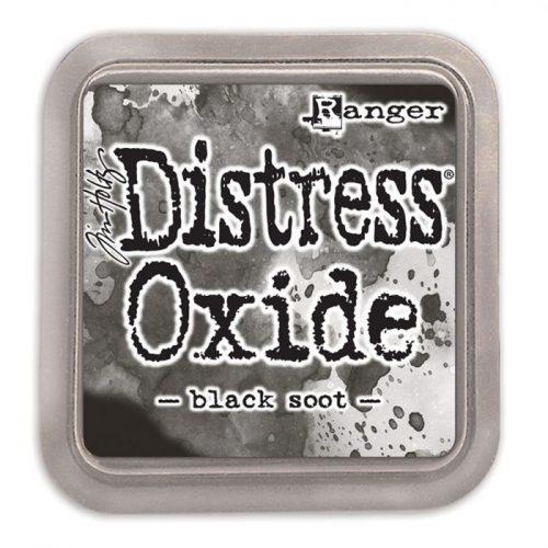 Tinta Distress Oxide Black Soot