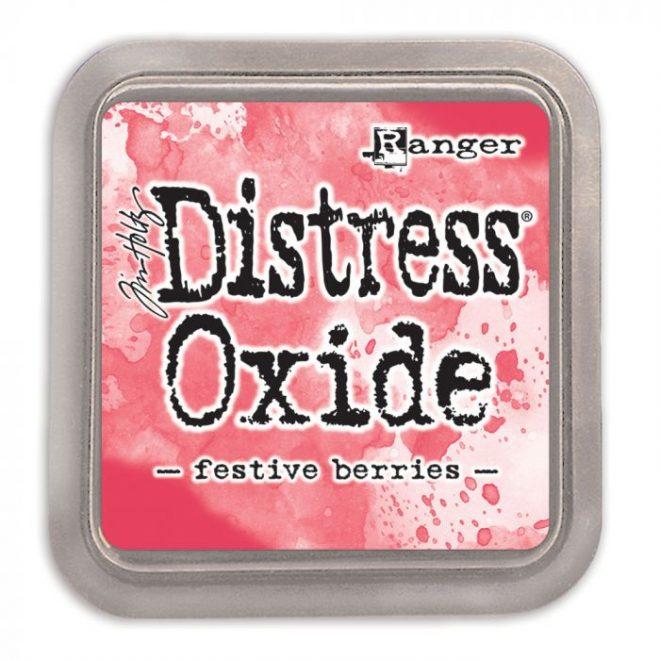Tinta Distress Oxide Festive Berries
