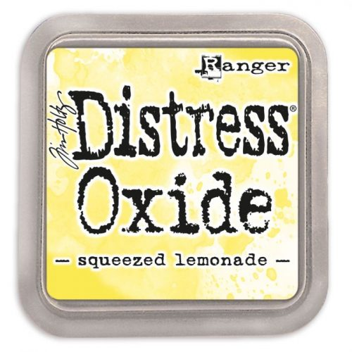 Tinta Distress Oxide Squeezed Lemonade