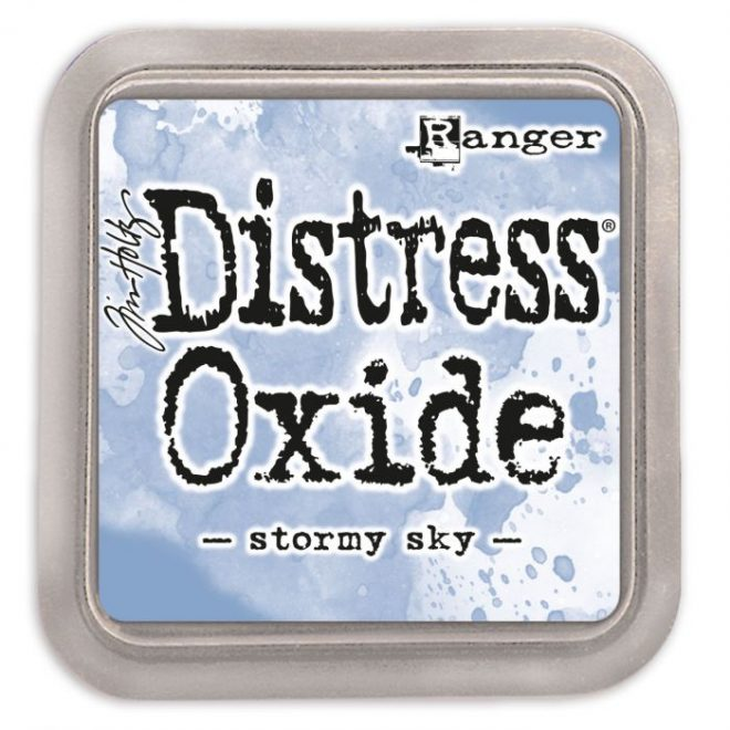 Tinta Distress Oxide Stormy Sky
