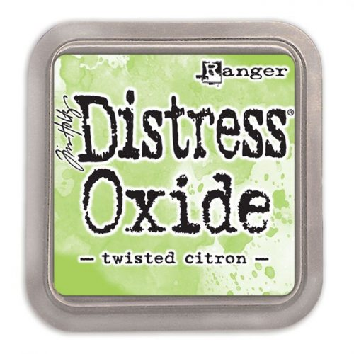 Tinta Distress Oxide Twisted Citron