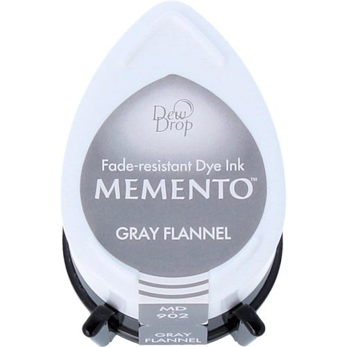 Tinta MEMENTO color Gray Flannel 32x50mm. Almohadilla gota