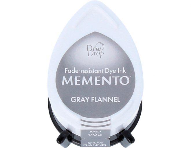 Tinta MEMENTO color Gray Flannel 32x50mm. Almohadilla gota