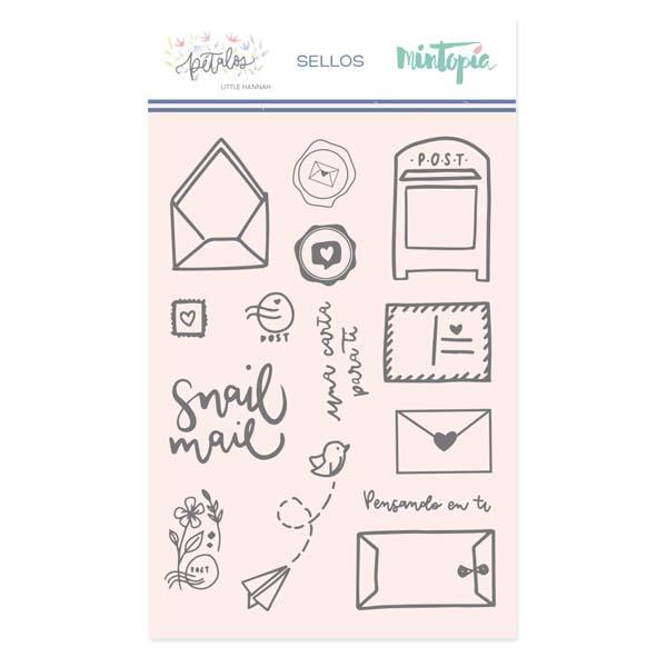 Sello Mintopía Pétalos Snail Mail