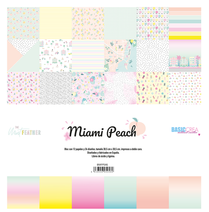 Miami Peach by The Mint Feather
