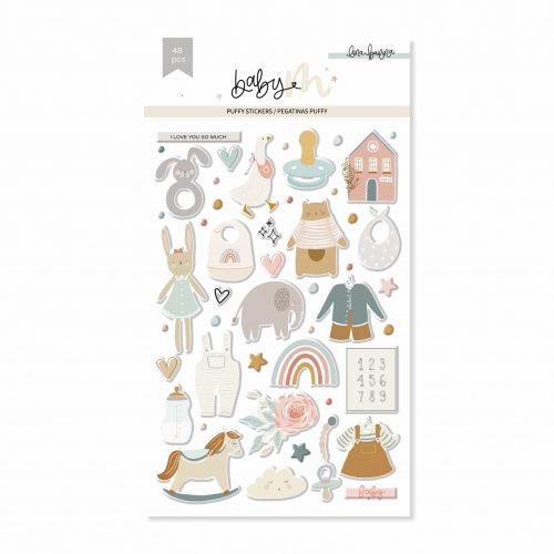 Baby M de Lora Bailora - Puffys ilustraciones