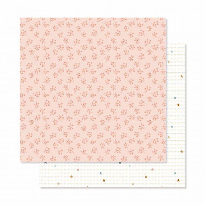 Baby M de Lora Bailora - Bloc de 36 papeles a una cara de 30,5x30,5cm