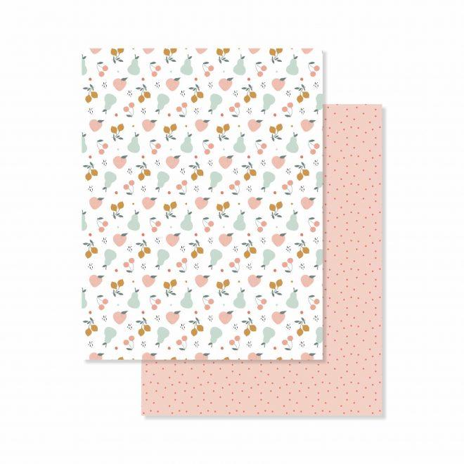 Baby M de Lora Bailora - Paper pad 38 papeles una cara de 15,2x21cm
